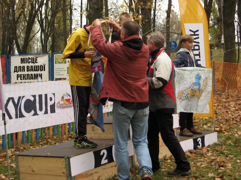 2 місце в особистому заліку зайняв Мирослав Робейко