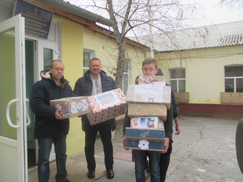 Як Гощанці відвідали Луганщину