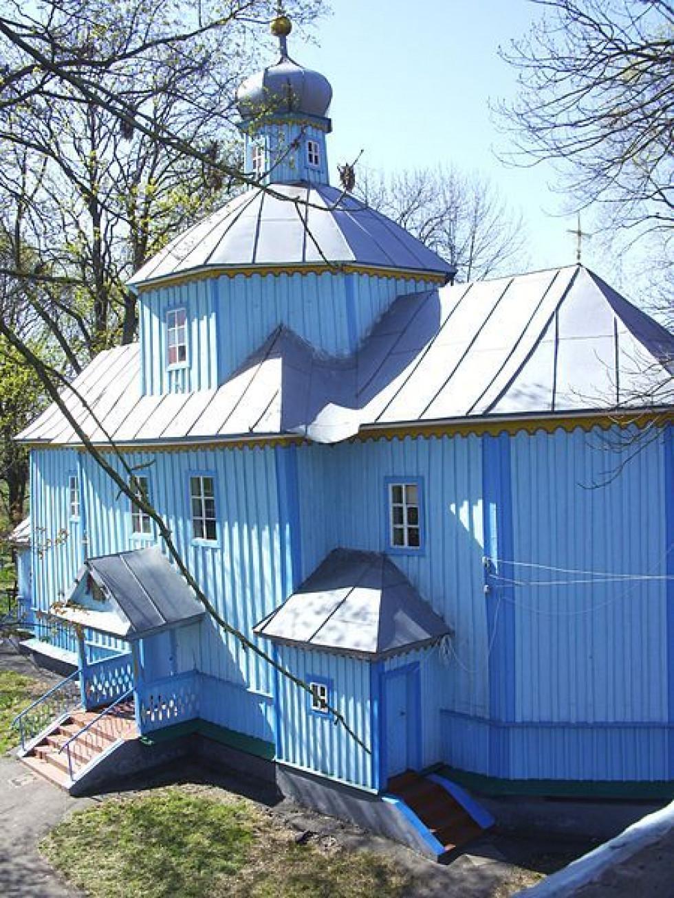 Георгіївська церква у Дроздові