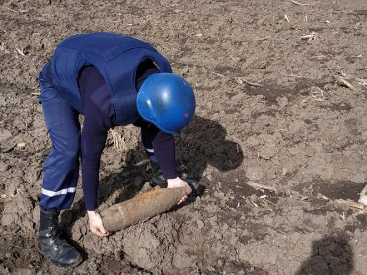 На Гощанщині знайшли боєприпаси