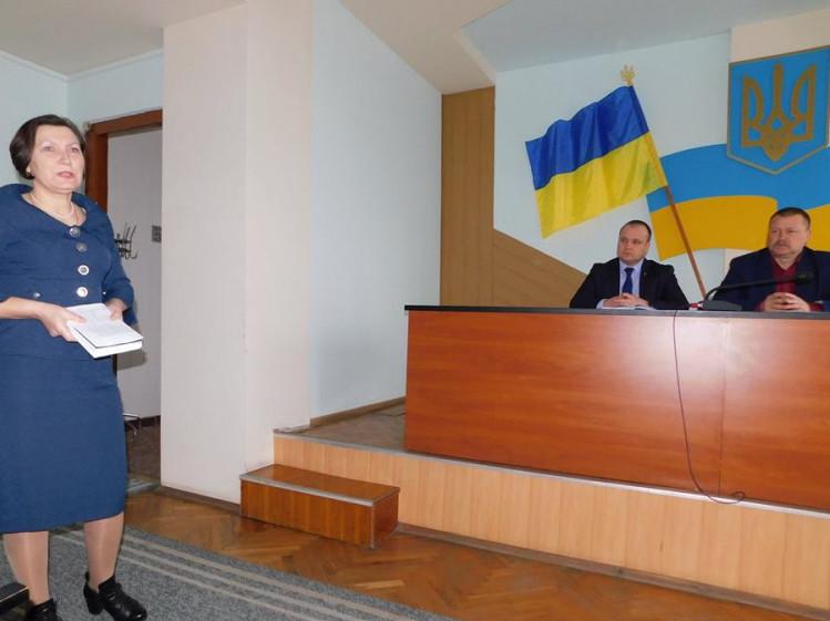 Посадовці Гощанщини говорили про хвороби та виплату субсидій