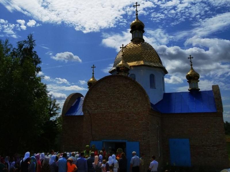 На Рівненщині освятили новий храм УПЦ (МП)