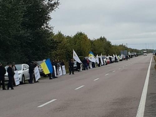 Від Гощі до Корця: як місцеві жителі протестували