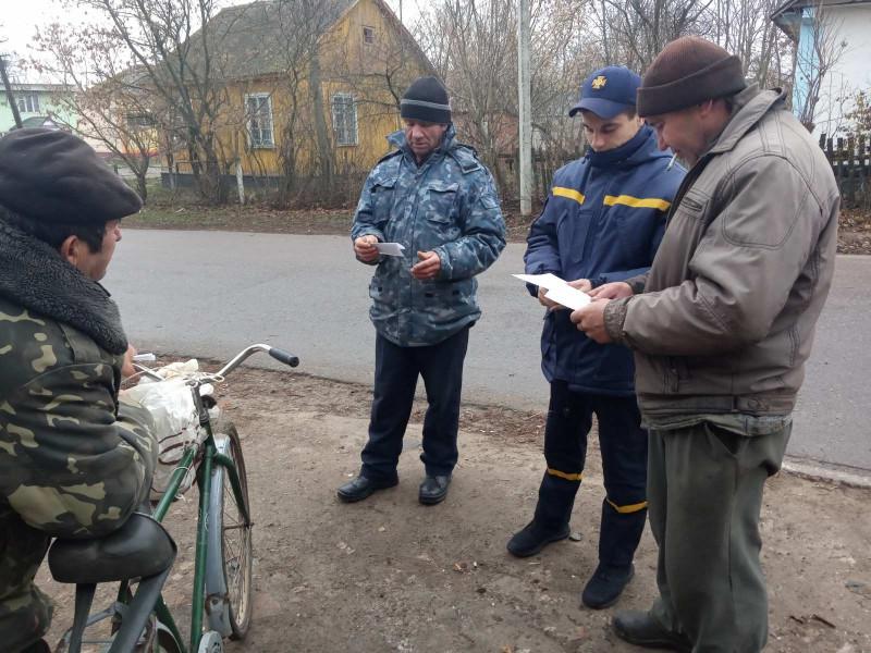 Гощанські рятувальники проводять інструктаж