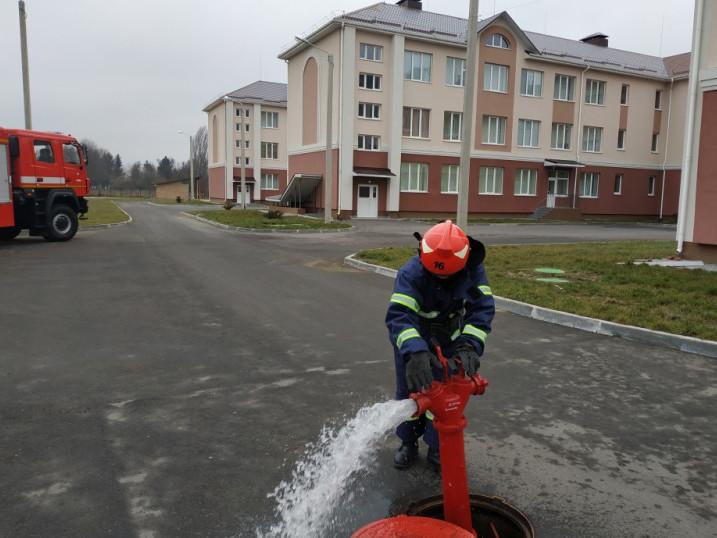Вогнеборці проводять навчання