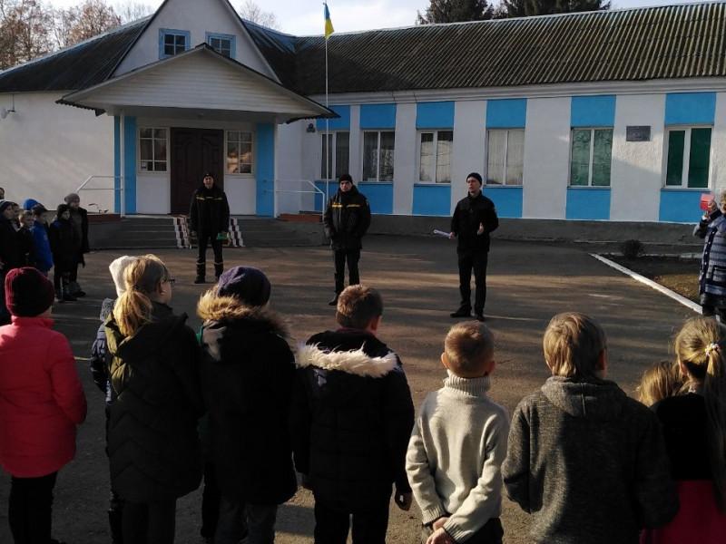 Елементи евакуації у Красносільській школі