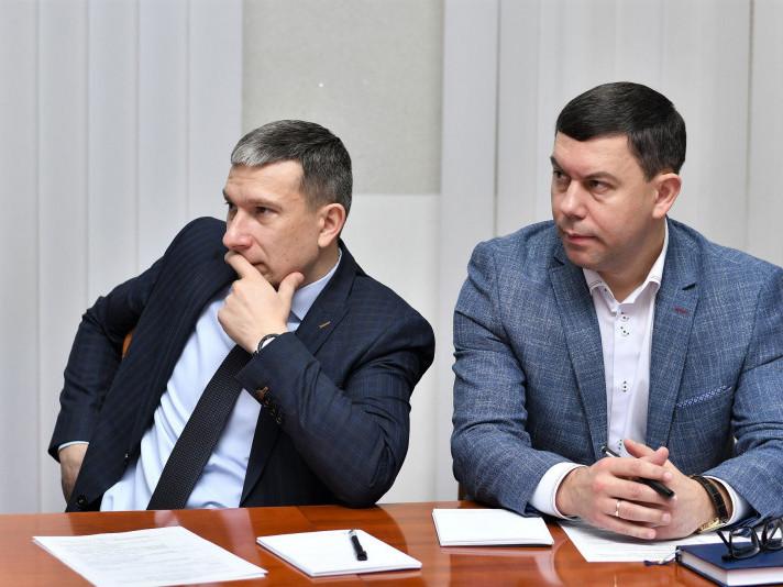 Василь Романюк на тренінгу