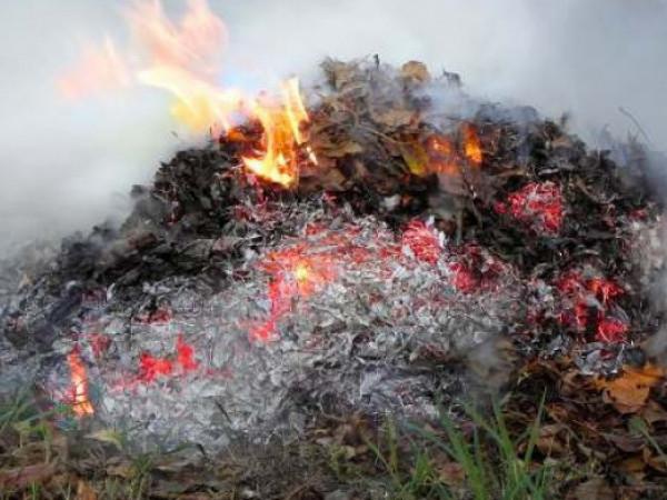 Фото ілюстративне/Загорання сміття