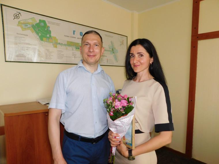 Василь Романюк та Ірина Парфьонова
