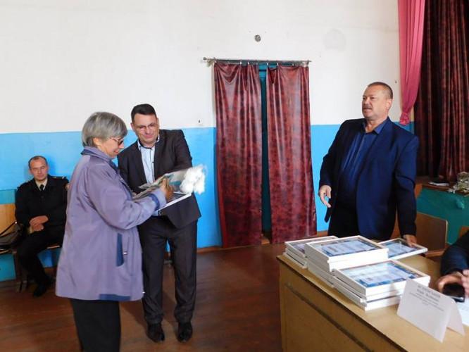 На Гощанщині вручили 26 подяк за допомогу в організації фестивалю «Красносільські вітряки»