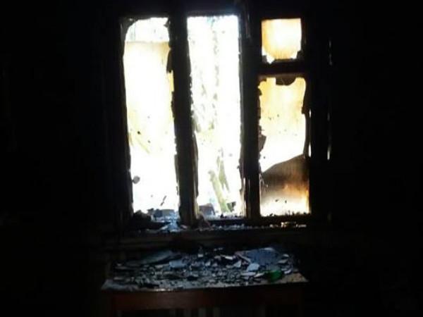 У селі Симонів під час пожежі загинула людина