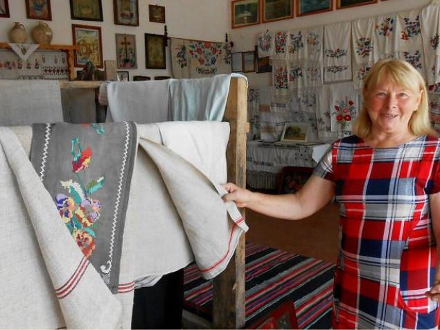 Гощанський музей активно поповнюють речима побуту, вишиванками та рушниками