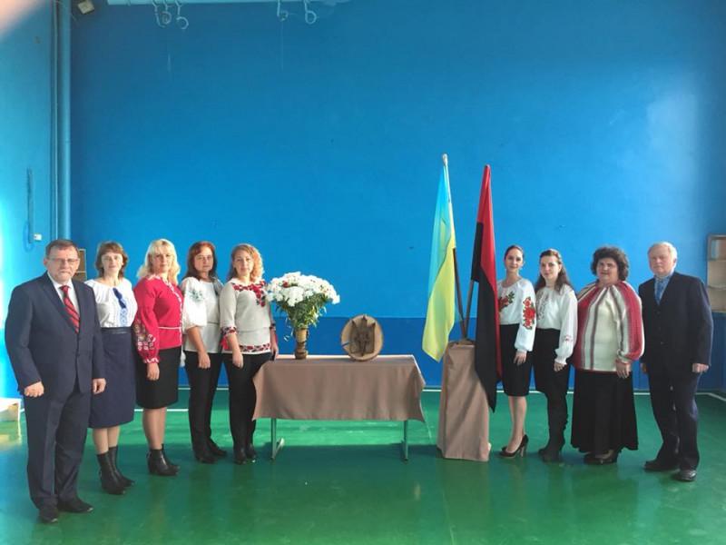 Співочий флешмоб до дня УПА провели у Гощанській гімназії