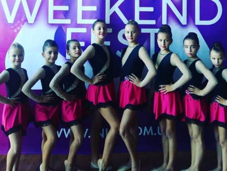 Дитячий колектив із Гощі зайняв 2 місце у Всеукраїнському фестивалі-конкурсі «ART WEEKEND FEST».
