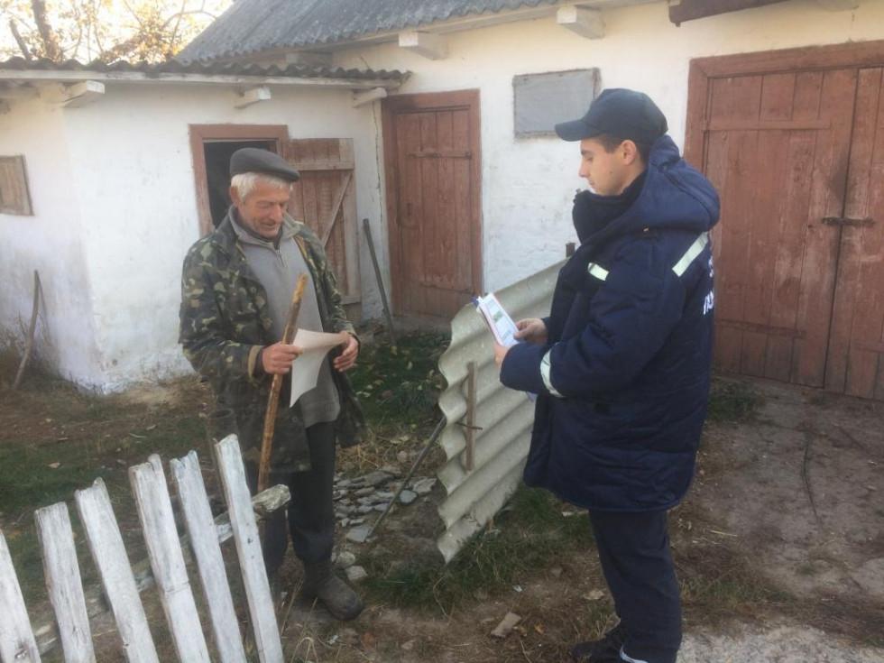 Рятувальники Гощанщини відвідали село Бочаниця