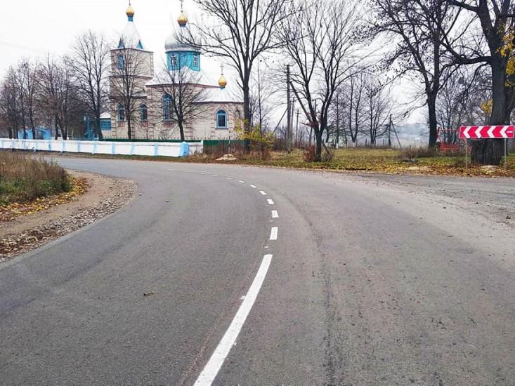 Завершують ремонт дорогиРівне-Тучин-Гоща