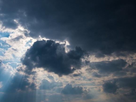 Хмарна погода у Гощі 12 листопада