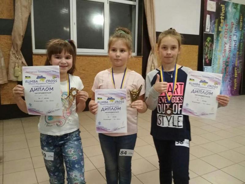 Гощанські дітлахи перші у змаганнях по спортивному танцю