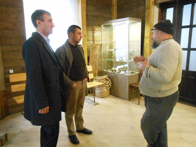 Як вести музей делегація із Гощі дізнавалася у Здолбунові