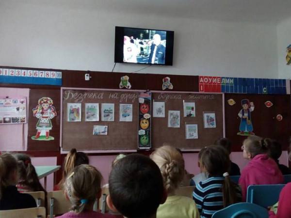 У Посягвівській школі провели тиждень безпеки дорожнього руху