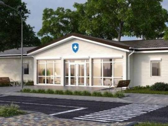 Продовжують будівництво нової амбулаторії у селі Горбаків