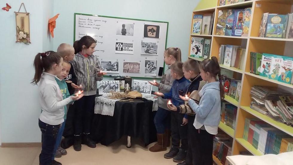 У селі Вільгір вшанували пам'ять жертв Голодомору