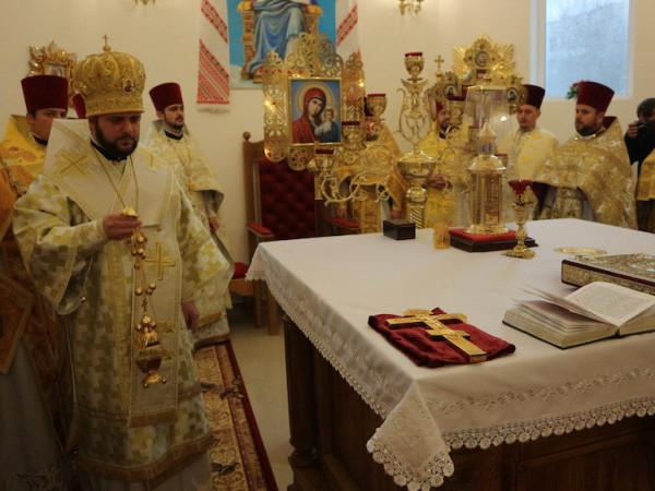 У Гощі освятили храмСвятого Василія Великого