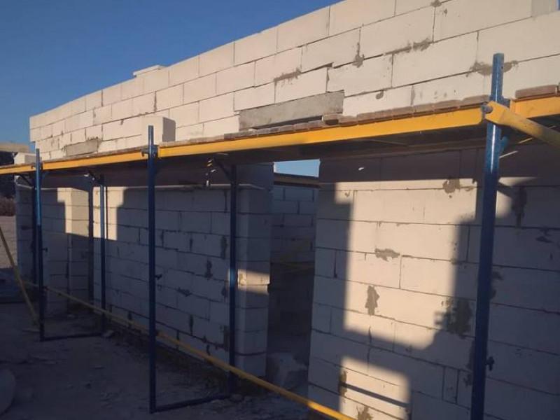 У селі Горбаків звели стіни нової, сучасної амбулаторії