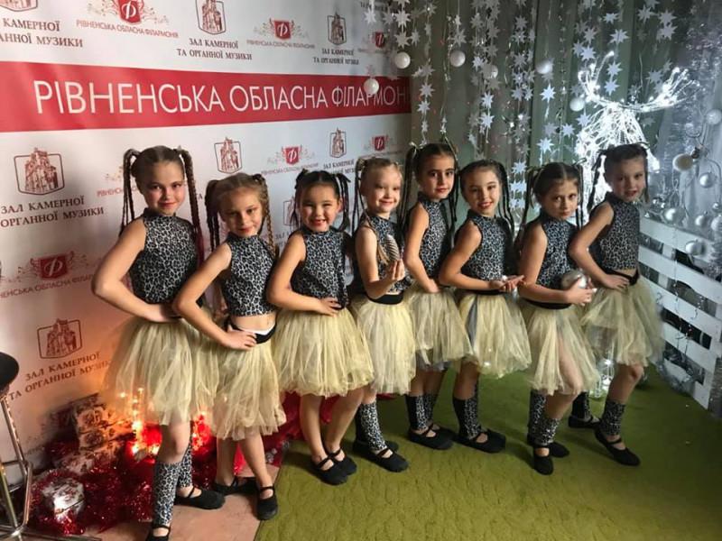 У Рівному виступили два танцювальні колективи з Гощі
