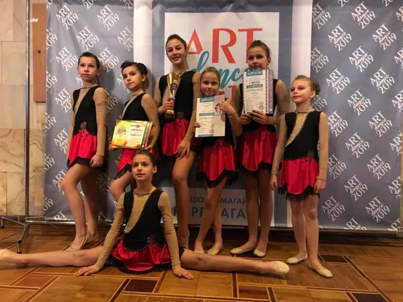 Танцювальний колектив з Гощі переміг на чемпіонаті України