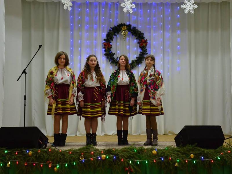 У Бугринській ОТГ відбувся фестиваль різдвяних піснеспівів