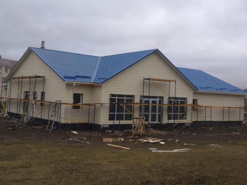 У Горбакові продовжують роботу над будівництвом сучасної амбулаторії