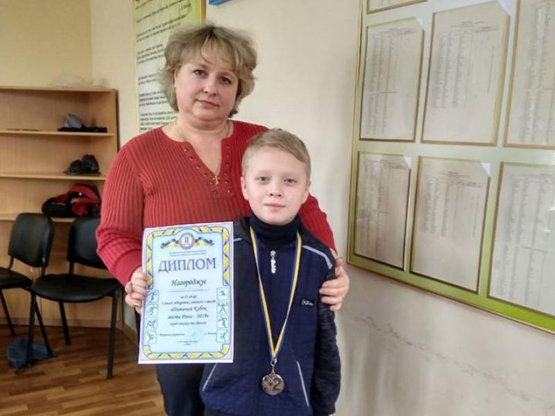 Дев'ятирічний хлопчик з Гощанщини зайняв ІІ місце на обласному турнірі з шахів