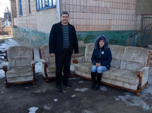 Тучин: дівчата-сироти отримали м`які частини, для обаштування нових квартир