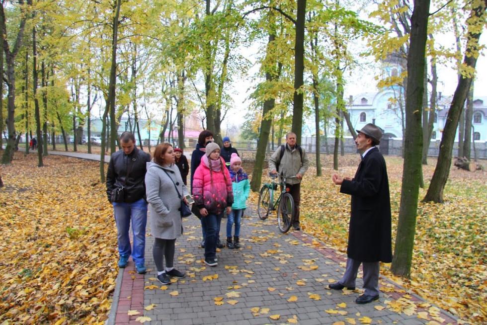Розповідали про поважний вік дерев у Гощінському парку